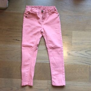 Pumpkin patch pink stretch jeans size 4